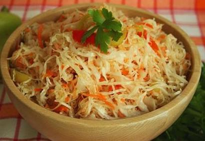 Как приготовить вкусную хрустящую капусту